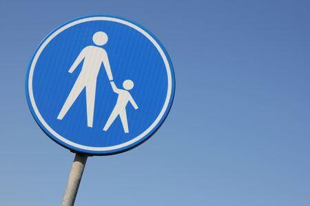 dutch: Dutch road sign: footpath