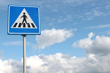 dutch: Dutch road sign: pedestrian crossing