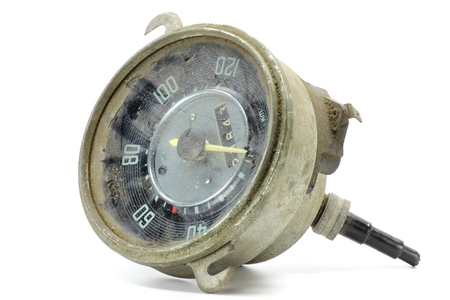 spare part: spare part speedometer for classic car