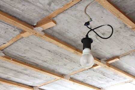 substructure: bulb holder for renovation with energy saving lamp