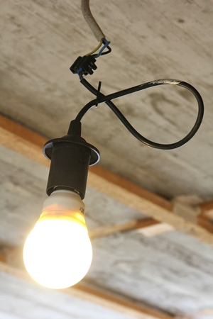 bulb holder for renovation with energy saving lamp