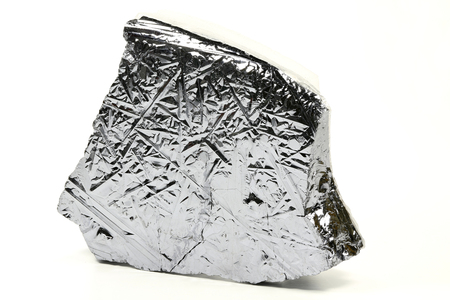 basic material: high purity polycrystalline silicon from Freiberg  Germany isolated on white background