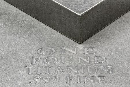 titanium: one pound titanium ingots
