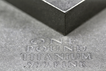 ingots: one pound titanium ingots
