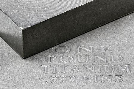 one pound titanium ingots