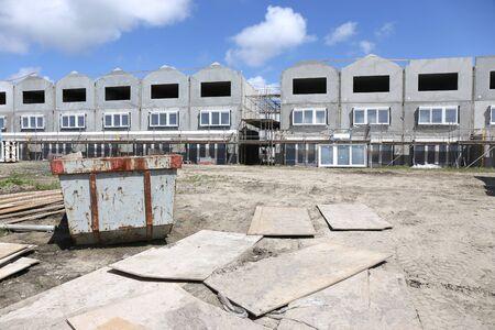 townhouse under construction