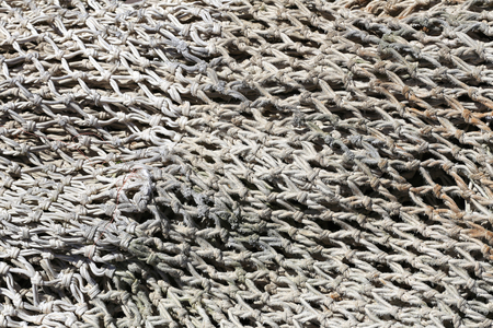 fishing net: fishing net for background use Stock Photo