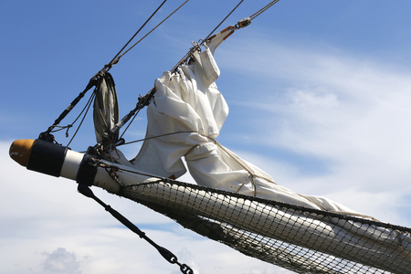 bowsprit of a barquentine