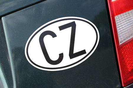 black ancestry: international vehicle registration code: Czech Republic