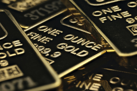 an ounce: 1 ounce gold ingots