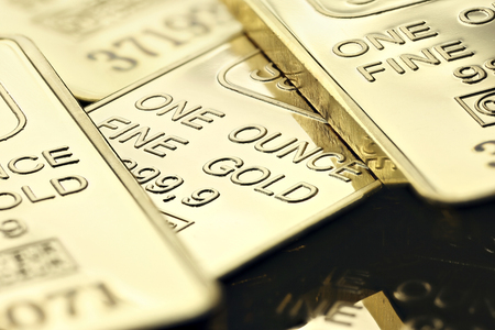 ounce: 1 ounce gold ingots