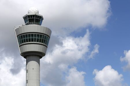 schiphol: traffic control tower of Schiphol Amsterdam Airport
