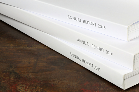 year financial statements: annual reports from 2013 - 2015