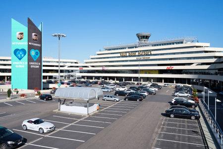Cologne Bonn Airport (Konrad Adenauer) - main building of Terminal 1