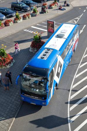 team bus of the Hamburger SV football department