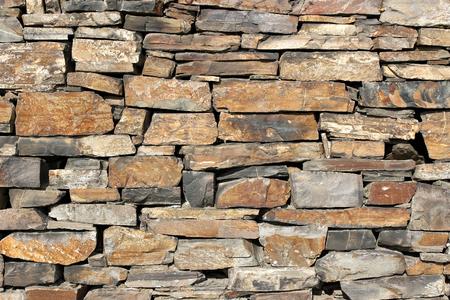 muro de piedra natural para el uso del fondo