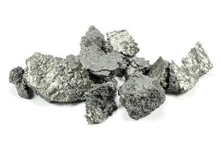 Yttrium isolated on white background Stock Photo