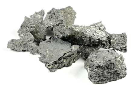 Yttrium isolated on white background Archivio Fotografico
