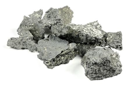 Yttrium geïsoleerd op een witte achtergrond Stockfoto