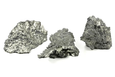 basic material: Yttrium isolated on white background Stock Photo