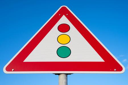 señales trafico: Alemán señal de tráfico: señales de tráfico Foto de archivo
