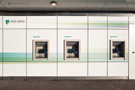 bankomat: ABN AMRO cash dispensing machines
