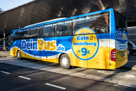 DeinBus.de intercity bus Éditoriale