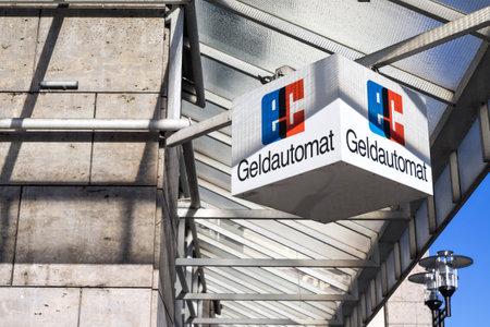 bankomat: ec sign at German Bank