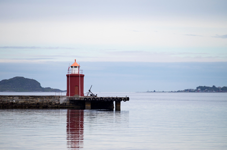 navigational light: Molja Lighthouse in Alesund, Norway