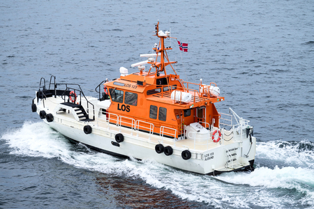 Norwegian pilot vessel LOS 123