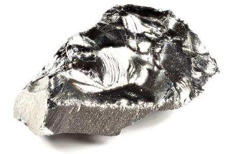 99.98% feine Germanium isoliert auf weißem Hintergrund Standard-Bild - 84788135