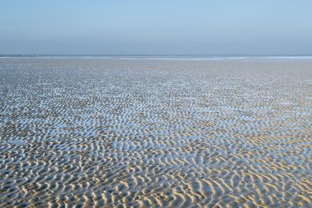 Lower Saxon Wadden Sea National Park near Cuxhaven Germany