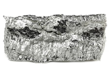 99.95% fine magnesium isolated on white background