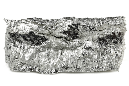99.95% fine magnesium isolated on white background Stock fotó - 94717136