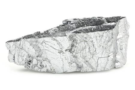 99.9% fine chromium isolated on white background Standard-Bild - 95470298