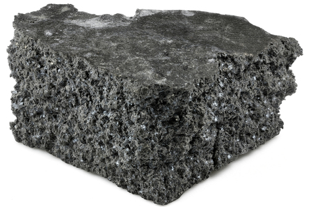 99.9% fine gadolinium isolated on white background Standard-Bild - 98796764
