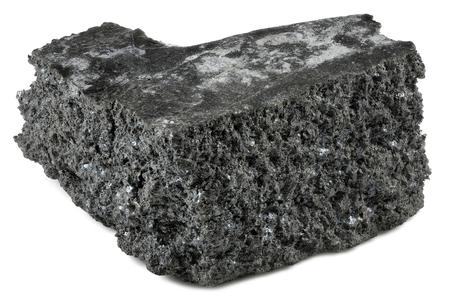 99.9% fine gadolinium isolated on white background Standard-Bild - 98899143