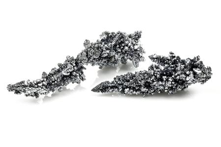 99.9% fine vanadium isolated on white background Standard-Bild - 98871116