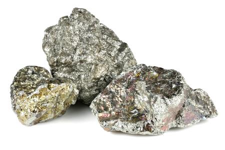 99.95% fine niobium isolated on white background Standard-Bild - 98915623