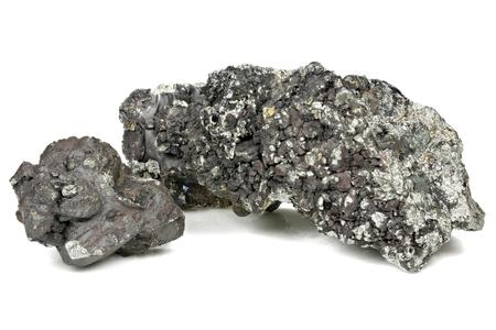 99.7% fine manganese isolated on white background