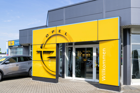 Opel dealer. Opel is a German automobile manufacturer and part of the French Groupe PSA since August 2017.