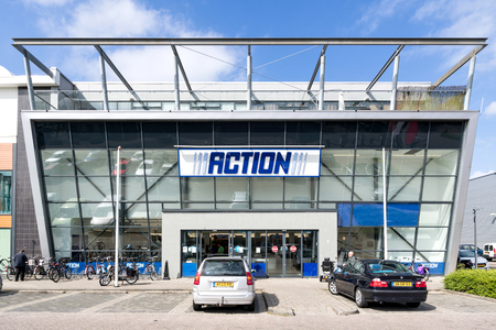 Action store. Action is a Dutch discount store-chain, owned by the British private-equity fund 3i. It sells low budget, non-food and some food products. Editoriali