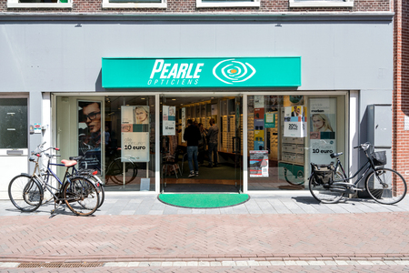 Pearle branch in Leiden. Pearle is a brand of GrandVision, a global leader in optical retail with operations in 44 different countries.