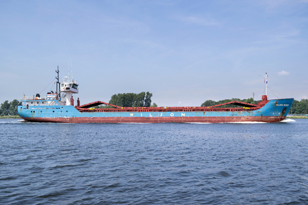 general cargo vessel WILSON WESER inbound Amsterdam. Wilson ASA is one of the largest short sea shipping companies in the world that operates about 100 vessels.