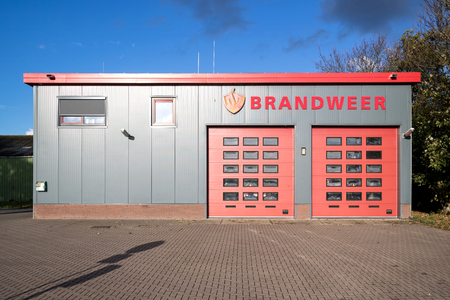 fire station on the Dutch island of Texel