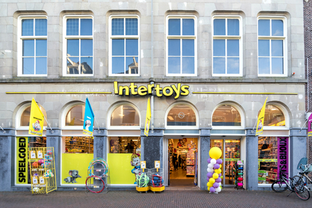 Intertoys store. Intertoys is a Dutch toys and multimedia retailer and is owned by British Alteri Investors.