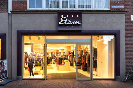 Miss Etam branch. Miss Etam is a Dutch clothing retailer for women and has a history of more than 90 years.