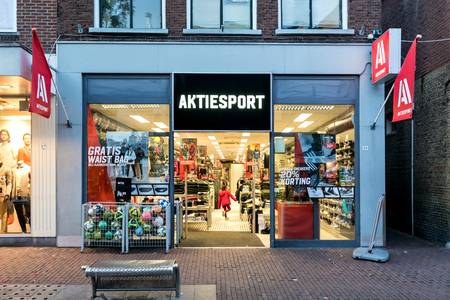 Aktiesport branch. Aktiesport owns and operates a chain of sports goods retail stores that sells sportswear, bags, glasses and related accessories.