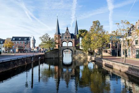 Waterpoort in Sneek, the Netherlands Stock Photo - 115154913