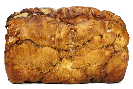 Frisian Suikerbrood (sugar bread) isolated on white background